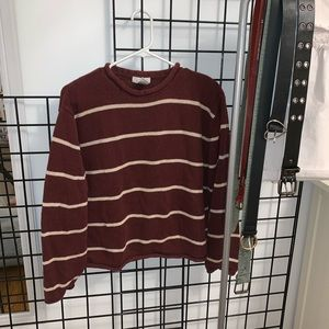 THRIFTED STRIPED SWEATER